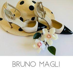 Bruno Magli Anita Cap Toe Pump High Heels